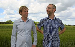 Rene Engholm Larsen and Morten Vestergaard